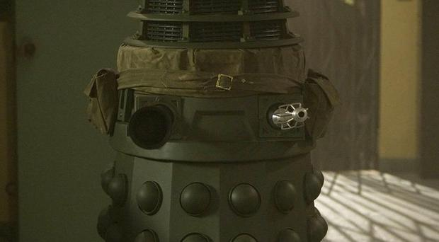 The Daleks are to be unveiled as a military war machine in Doctor Who
