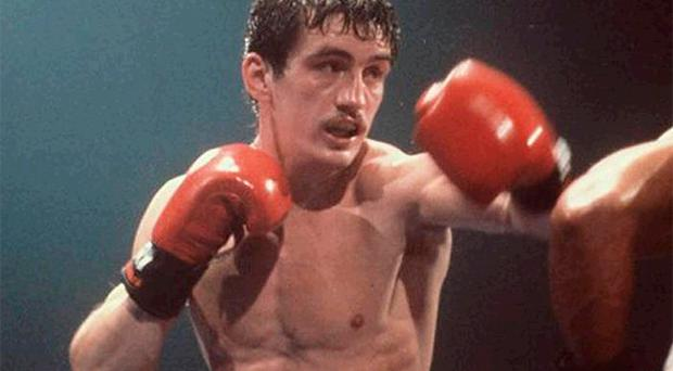 <br /><b>Barry McGuigan</b><br /> The Clones Cyclone is one of our greatest ever boxers, winning the world featherweight title with a points decision over Panama's Eusebio Pedrosa, after having the champion down in the seventh round, at QPR's Loftus Road stadium in London in 1985. McGuigan was famous for wearing an image of the dove of peace on his shorts and also for his father's singing of Danny Boy before each fight. McGuigan successfully defended his title with stoppages against Bernard Taylor and Danilo Cabrera, before losing it to Steve Cruz on points in the heat of Las Vegas. That wasn't the end for McGuigan. After splitting with his long-time mentor Barney Eastwood, he boxed on, but hung up his gloves in 1989 after a stoppage on cuts against Jim McDonnell. McGuigan has remained in the public eye through his various media work and is again directly involved in boxing as a manager.