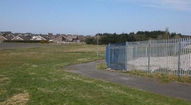 Residents say they are being tormented at the old Bangor Academy site