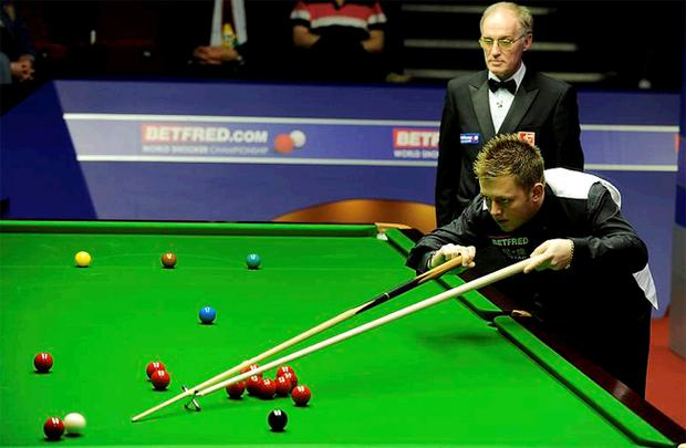 Mark Allen says a lack of nerves affected his game against Tom Ford yesterday