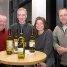 The winners 'Steven's Team' - Steven Montgomery, Wes Gilmore, Helen Willis and Alan Cameron