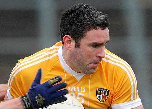 Antrim's Michael Magill is hoping to be fit to face Sligo in the National Football League Division Three final at Croke Park on Saturday night