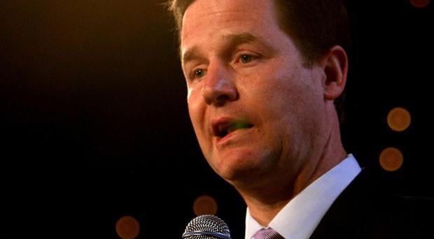 Nick Clegg has set out plans for banking reform