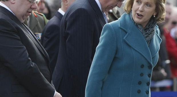 President Mary McAleese has hailed moves to combat mistrust and ignorance