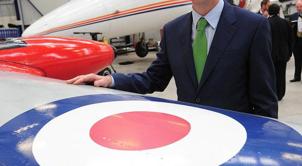 Liberal Democrat leader Nick Clegg visits the Newcastle Aviation Academy on the campaign trail