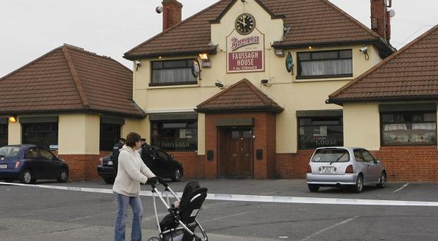 The Faussagh House pub in north Dublin where Eamon Dunne, 32, from Dunsoghly Drive in Finglas was shot dead