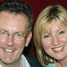 Mike Nesbitt with wife Lynda Bryans