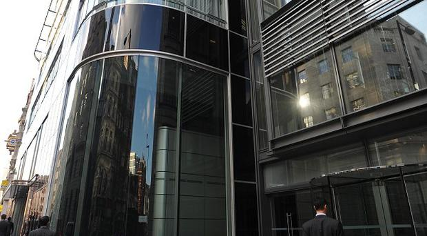 The Goldman Sachs complex of offices in Fleet Street, London
