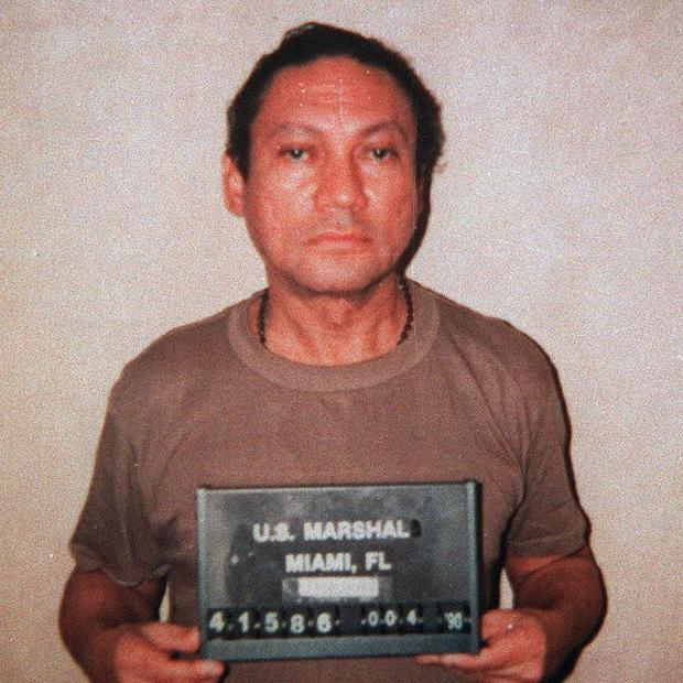 Extradited former Panamanian dictator Manuel Noriega was heading to France where he is expected to stand trial on money laundering charges