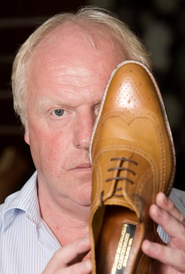 Robin Stewart of Robinson's Shoemakers