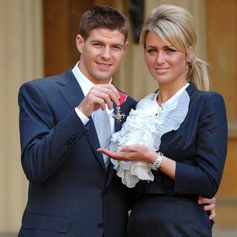 Alex Curran has dismissed claims of a split with Steven Gerrard