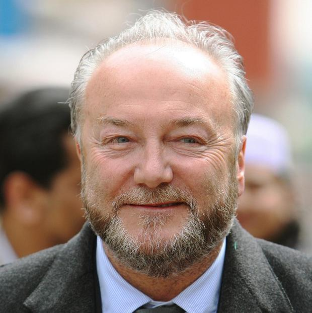 Respect MP George Galloway is seeking to overturn a ban on him entering Canada