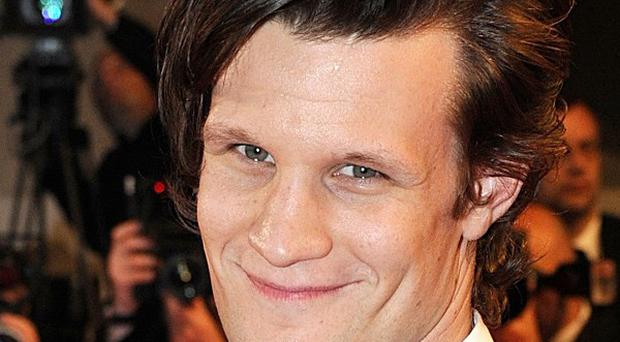 Matt Smith stars as The Doctor