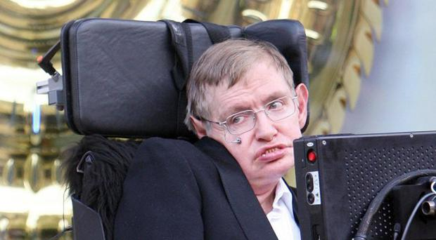 Cosmologist Professor Stephen Hawking said it was too risky to try to talk to space aliens