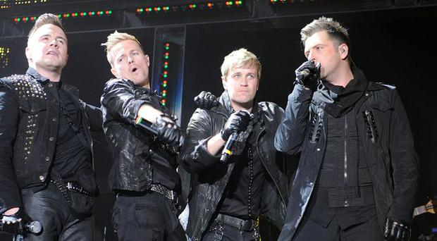 Westlife at the Odyssey. May 2010