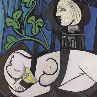 A 1932 painting by Pablo Picasso has been auctioned for a world record price