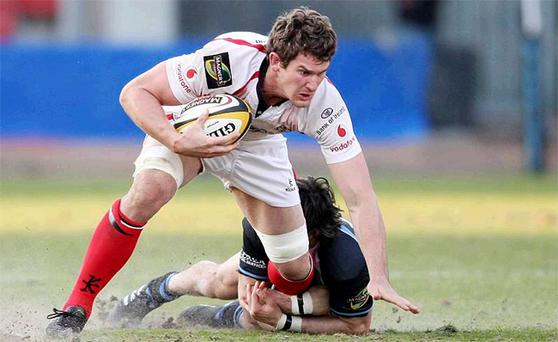 Robbie Diack is determined that Ulster finish the season on a high note against Connacht tomorrow night