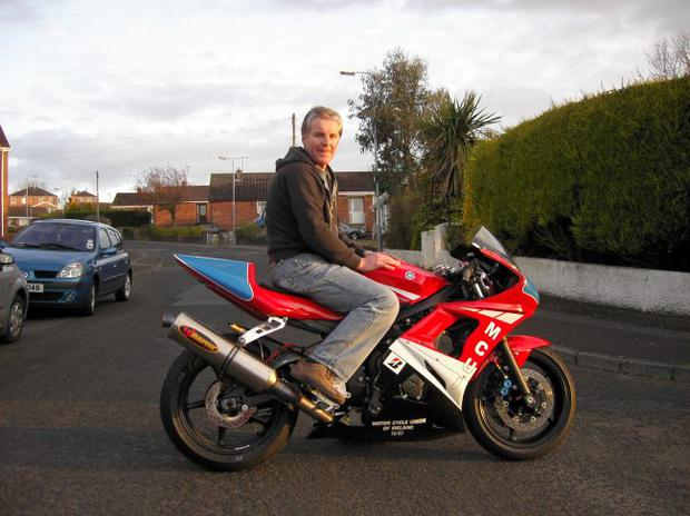 Stephen Ferguson: he gives racing newcomers a high speed introduction to the NW200 course