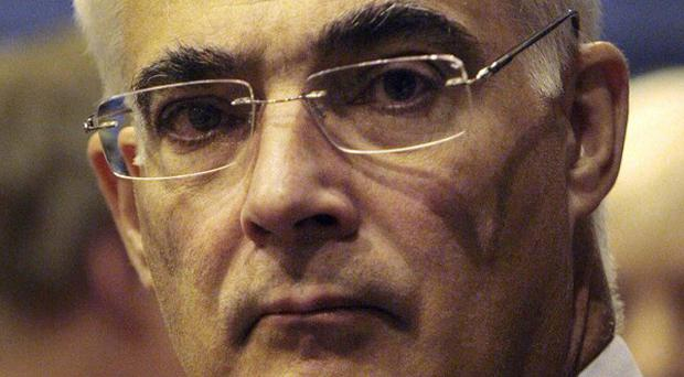 Speaking just before 4am, Alistair Darling said election result was still too close to call