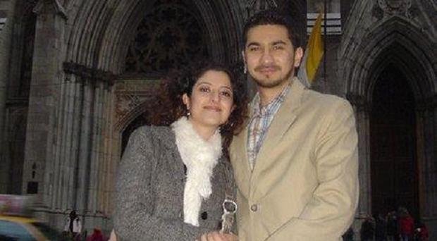 Failed Times Square bombing suspect Faisal Shahzad and his wife Huma Mian