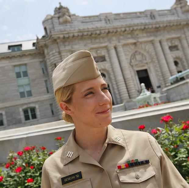 Abigail Gesecki has been selected to begin training to become a submarine officer