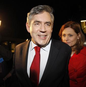 Gordon Brown is hoping to cling on to power by forming an alliance with the Liberal Democrats