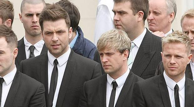 Westlife And U2 Funeral Tributes To Gerry Ryan