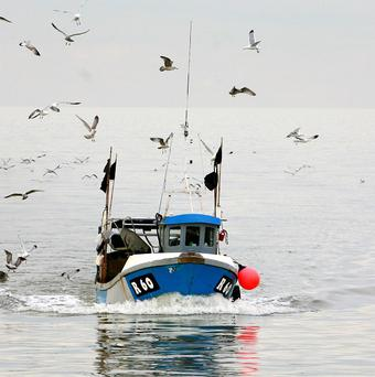 Large sections of the Scottish fishing fleet face are reportedly being forced out of business
