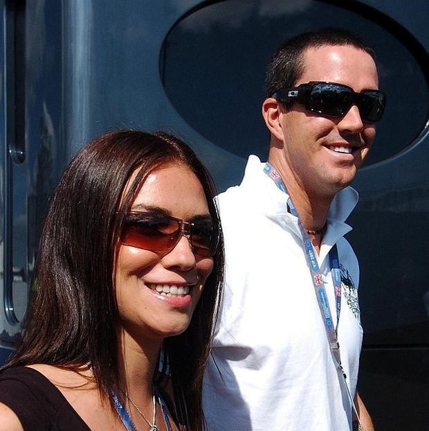 Kevin Pietersen and Jessica Taylor have become parents to a baby boy