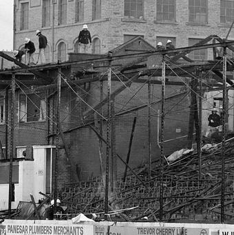 The 25th anniversary of the Bradford fire disaster is being marked