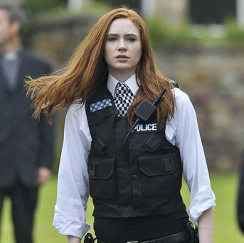 Karen Gillan helped 'sex up' her Doctor Who character Amy Pond