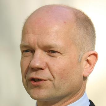 Foreign Secretary William Hague is visiting the US