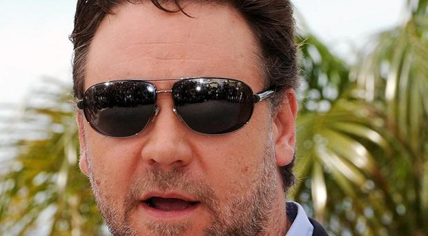 Russell Crowe stormed out of an interview in a row about his accent