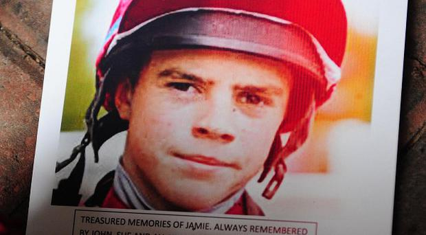 Jockey Jamie Kyne, 18, who died in a fire at a flat in North Yorkshire