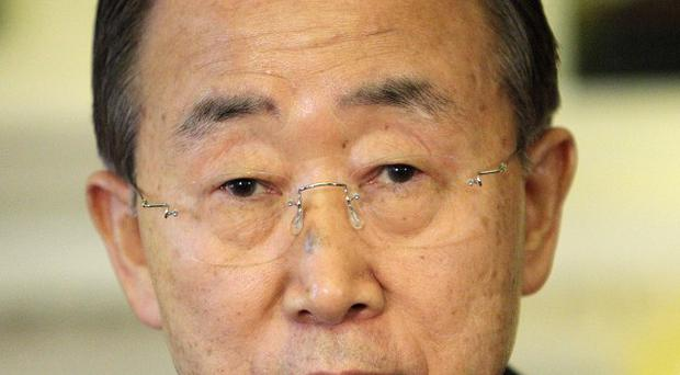 UN secretary general Ban Ki-Moon has called for action against piracy