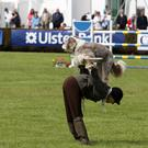 Third and final day of the Ulster Bank Balmoral Show at the Kings Hall in south Belfast. A dog exhibition pictured during the show