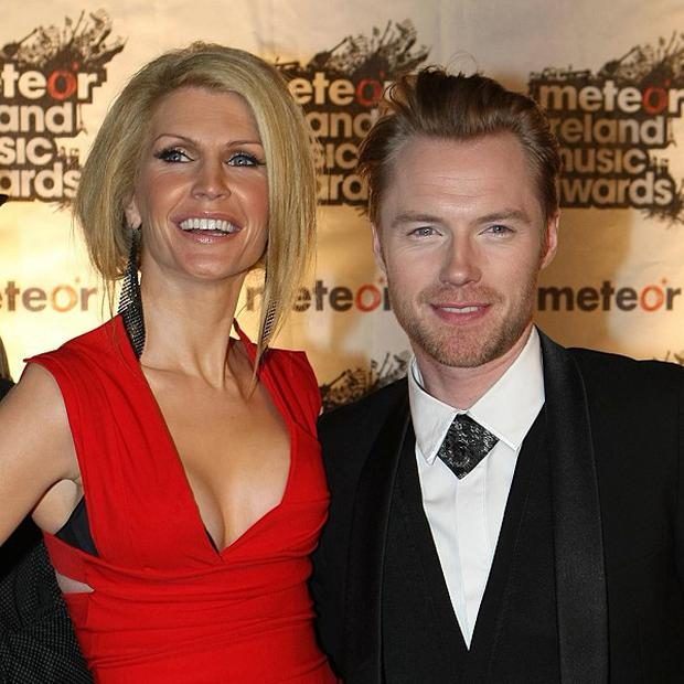 Ronan Keating split from his wife Yvonne after 12 years of marriage