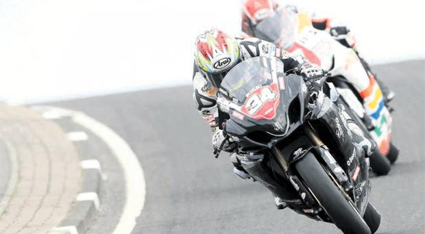 On track: Alistair Seeley has tasted success in the British Superbike Championship