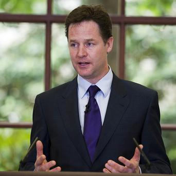 Deputy Prime Minister Nick Clegg mounted a passionate defence of the coalition Government as he took questions from the public