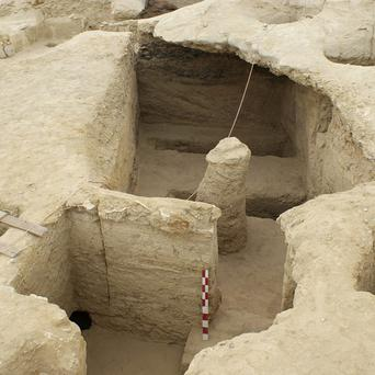 Tombs discovered in Lahoun, near Fayoum (AP)