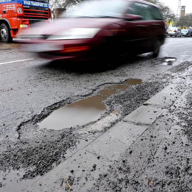 Potholes and slow broadband 'top niggles' survey finds