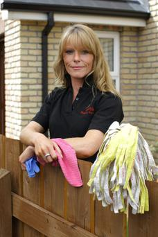 Jeanette Vokes from sparkle cleaning services