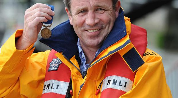Anthony Chambers will be awarded the RNLI's Bronze medal for Gallantry
