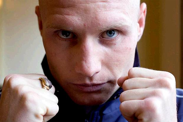 Kevin O'Hara aims to land the British super-featherweight title tomorrow night