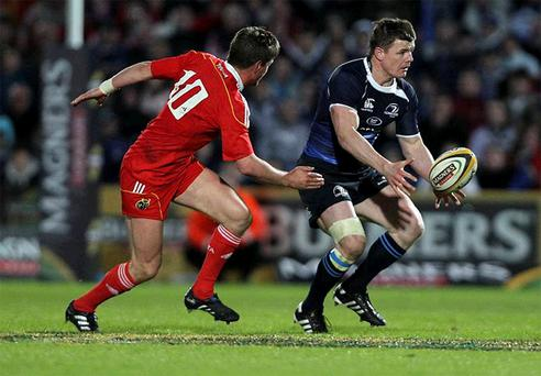 Brian O'Driscoll would love to win the Magners League Grand Final on Saturday against Ospreys