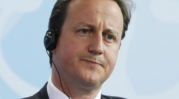 David Cameron is due to spell out plans for the UK economy