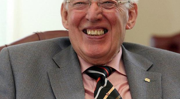 Former first minister of Northern Ireland Ian Paisley who has been made a peer in the Dissolution Honours List.
