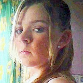Zoe Nelson's charred body was discovered in a field near Branchalfield Drive in Wishaw, North Lanarkshire