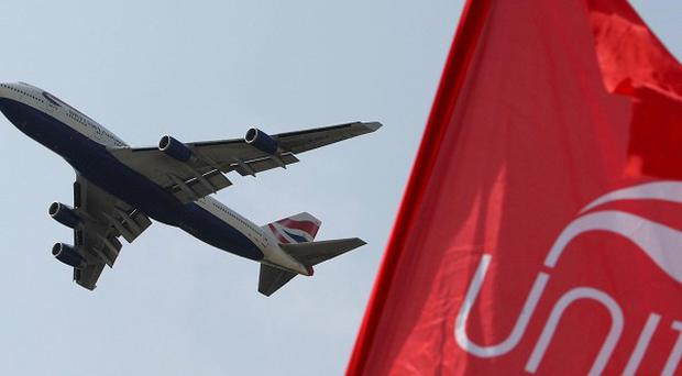 British Airways cabin crew will be balloted on further strike action, said the Unite union