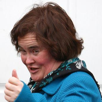 Susan Boyle would like Elaine C Smith to play her part in her biopic